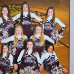 Junior Varsity Cheerleaders For Fall and Winter Sports