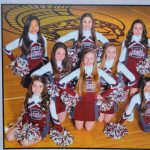 Freshmen Cheerleaders For Fall and Winter Sports