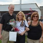 Softball Senior Kristen Huck Honored as Spartans Defeat Harding