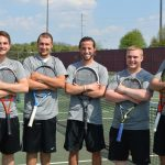 Tennis Seniors Honored At Last Home Match
