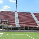 Home Bleachers Showing Some Maroon!