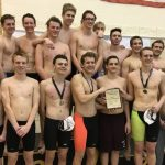 Boys Swim and Dive Team Wins The AAC Championship For The Second Year In A Row