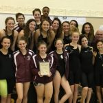 Girls Swim and Dive Team Defends Their AAC Title, Corie Kuras Named Female MVP Of The Meet