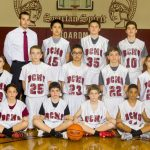 Center boys 7th grade basketball team defeats Glenwood