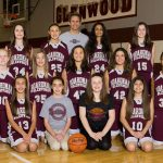 Glenwood 7th Grade Girls Basketball Team Defeats Center