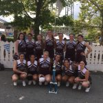 Varsity and JV Cheerleaders Take Runner-up Honors at Kennywood Cheerleading Competition