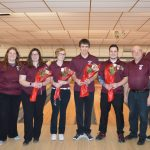 Senior Bowlers Honored At Last Home Match