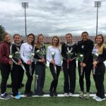 Spartan Girls Track Seniors Honored At Last Home Meet Against Poland