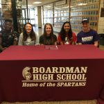 Five Spartan Senior Athletes Moving On To Collegiate Careers In Five Different Sports