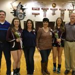Spartan Volleyball Seniors Honored At Last Home Match Of The Season With Canfield