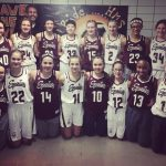 Glenwood Girls 7th Grade White Team And Maroon Team Play Each Other In First Round Of AAC Tournament