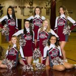 2017-18 Winter Freshman Cheerleading Pictures