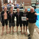 """Boys Swim Team State Qualifiers Gain All-Ohio Honors In 4 Events, Coach Terry O'Halloran Named Ohio Division I """"Coach of the Year"""""""