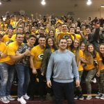 Green Bay Packer Center And Former Boardman Standout Corey Linsley Honored At Last Home Basketball Game of The Season