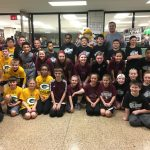 Elementary Schools Attend Spartan Varsity Game, Participate In Halftime Lay-Up Contest