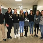 Six Members Of The Girls Indoor Track and Field Team Compete At The State Indoor Meet