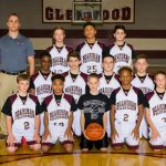 2017-18 Glenwood Boys 7th Grade Team White Pictures