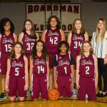 2017-18 Glenwood Girls 8th Grade Basketball Team Maroon Pictures