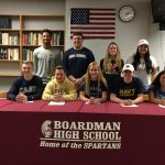 Nine Spartan Athletes To Continue Their Academic and Athletic Careers In College