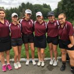 Girls Varsity Golf Team Finishes In Third Place At The AAC Red Tier Championship Meet