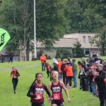 Girls Cross Country Runners Cuevas and McGee Take First And Second At AAC Red Tier Championship Meet