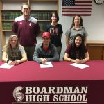 Three Spartan Student-Athletes  Sign Their Letter of Intent To Continue Their Careers Collegiately
