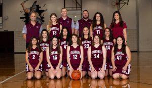 2018-19 Girls Varsity Basketball Team Pictures