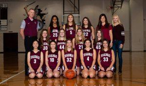 2018-19 Girls Junior Varsity Basketball Team Pictures
