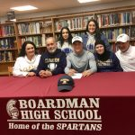 Senior Football Player Kareem Hamdan Signs With Clarion University In Pennsylvania