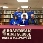 Senior Football Player Alex Huzicka Signs National Letter of Intent To Notre Dame College In Ohio