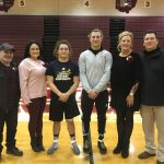Wrestlers Michael O'Horo and Kareem Hamdan Honored Before Beaver Local Match On Senior Night