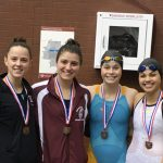 Girls Swimming 200 Freestyle Relay Qualifies For OHSAA State Swim Championship Meet