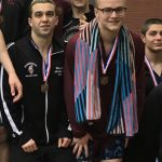 Boys Swim Team Qualifies 400 Meter Freestyle Relay To The OHSAA State Swim and Dive Championships