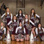 2018-19 Varsity Cheerleaders Winter Season Team Pictures