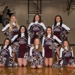 2018-19 Junior Varsity Cheerleaders Winter Season Team Pictures