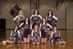 2018-19 Junior Varsity Cheerleaders Winter Season Team Pictures