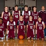 Boys Glenwood 8th Grade Team Maroon