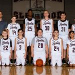 Boys Glenwood 7th Grade Basketball Team White