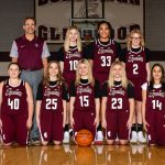2018-19 Glenwood Girls 7th Grade Basketball Team Maroon