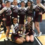 Freshman Cheerleading Squad Places 1st At Northeast Ohio Cheer Championship Held At Warren Harding