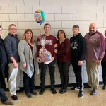 Senior Michael O'Horo Sent Off To OHSAA State Wrestling Tournament With A School Clap-Out