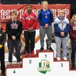 Congratulations To Senior Michael O'Horo On His 5th Place Finish At The OHSAA State Wrestling Tournament