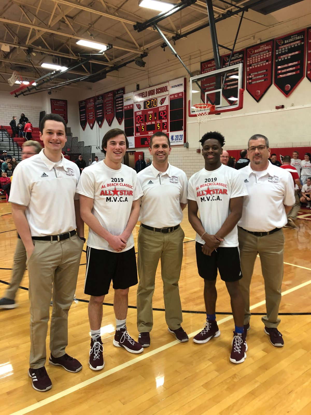 Seniors Cam Kreps And Che Trevena Selected To Play In Al Beach All-Star Game And Boardman Head Coach Pat Birch And His Coaching Staff Selected To Coach Mahoning County All-Stars