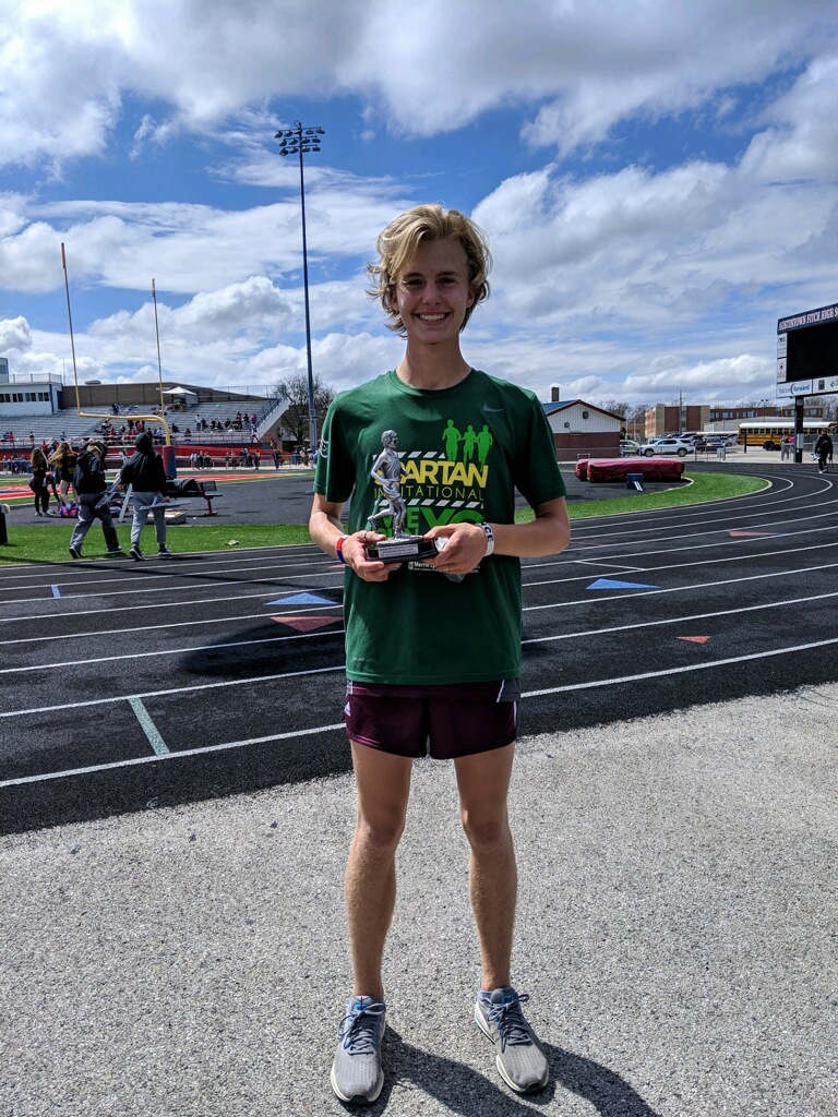 Junior Mitchel Dunham Named MVP of the Mahoning County Track and Field Meet