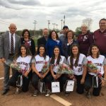 Five Senior Softball Players Honored Before Game With Warren Harding, Spartans Win 6-0