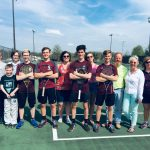 Four Senior Boys Tennis Players Honored Before The Ursuline Match