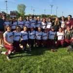 Girls Varsity Softball Team Drops A Hard Fought Game To Hudson In District Semi-Finals
