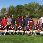 Nine Senior Baseball Players Honored With Their Parents Before The Spartans Defeated Lakeview 10-0
