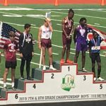 Brady DePietro Places 6th In The 110 High Hurdles At Middle School State Meet, Earns Podium Honors