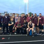 Boys Varsity Track Team Has Outstanding Performance at OHSAA District Meet, Earns District Runner-Up Honors, Qualifies 10 Events To The Regional Meet Next Week